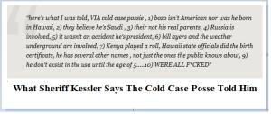 Kessler's Cold Case Posse Info